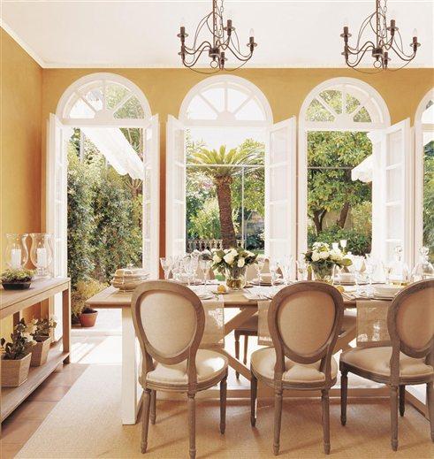 Llena tu casa de color - Color ocre paredes ...