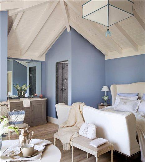 Llena tu casa de color - Tonos azules ...