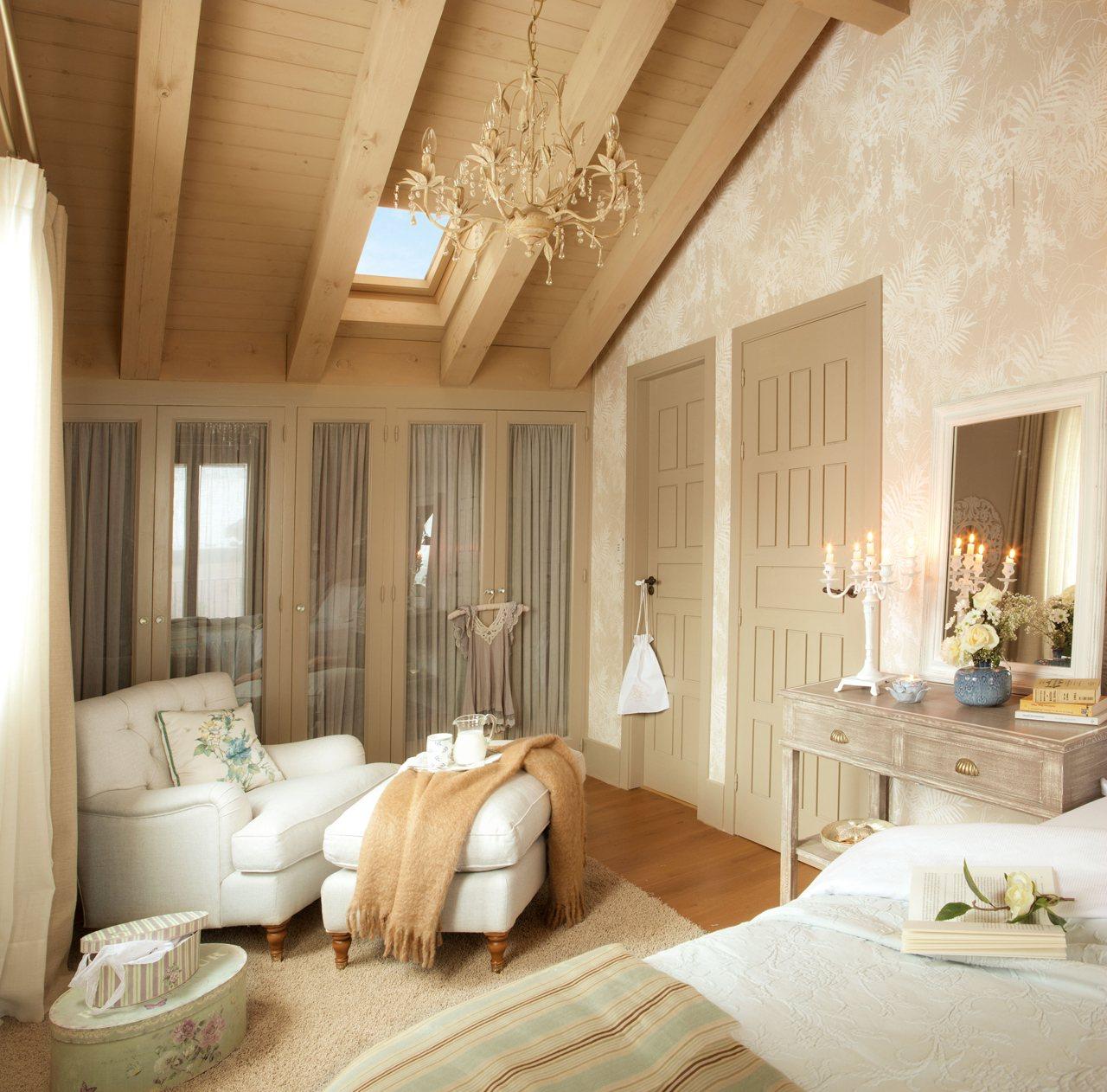 Gana un peque o vestidor for Cortinas dormitorio principal