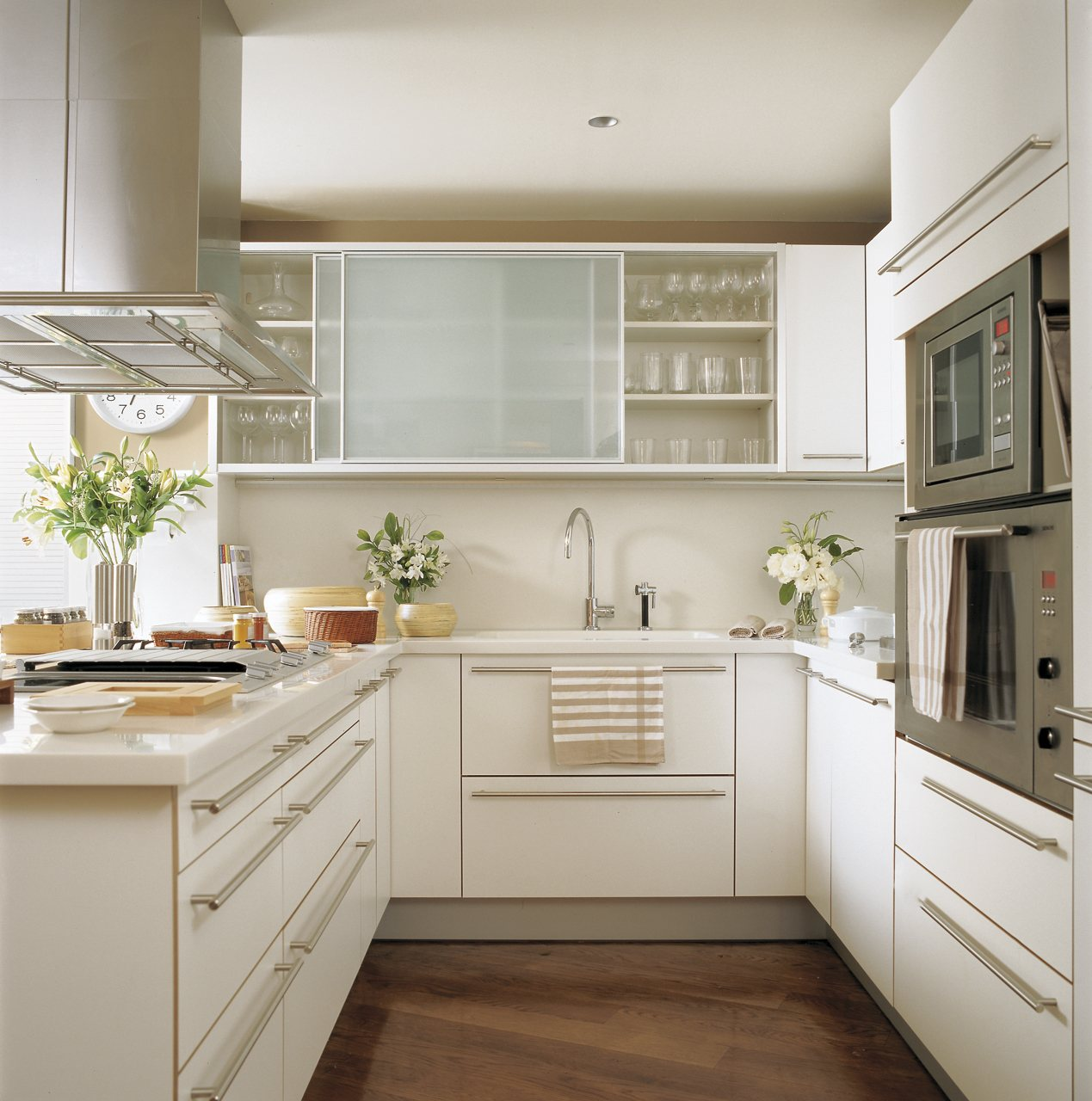 Cocinas pequeñas: ideas decorativas para aprovecharlas y ...