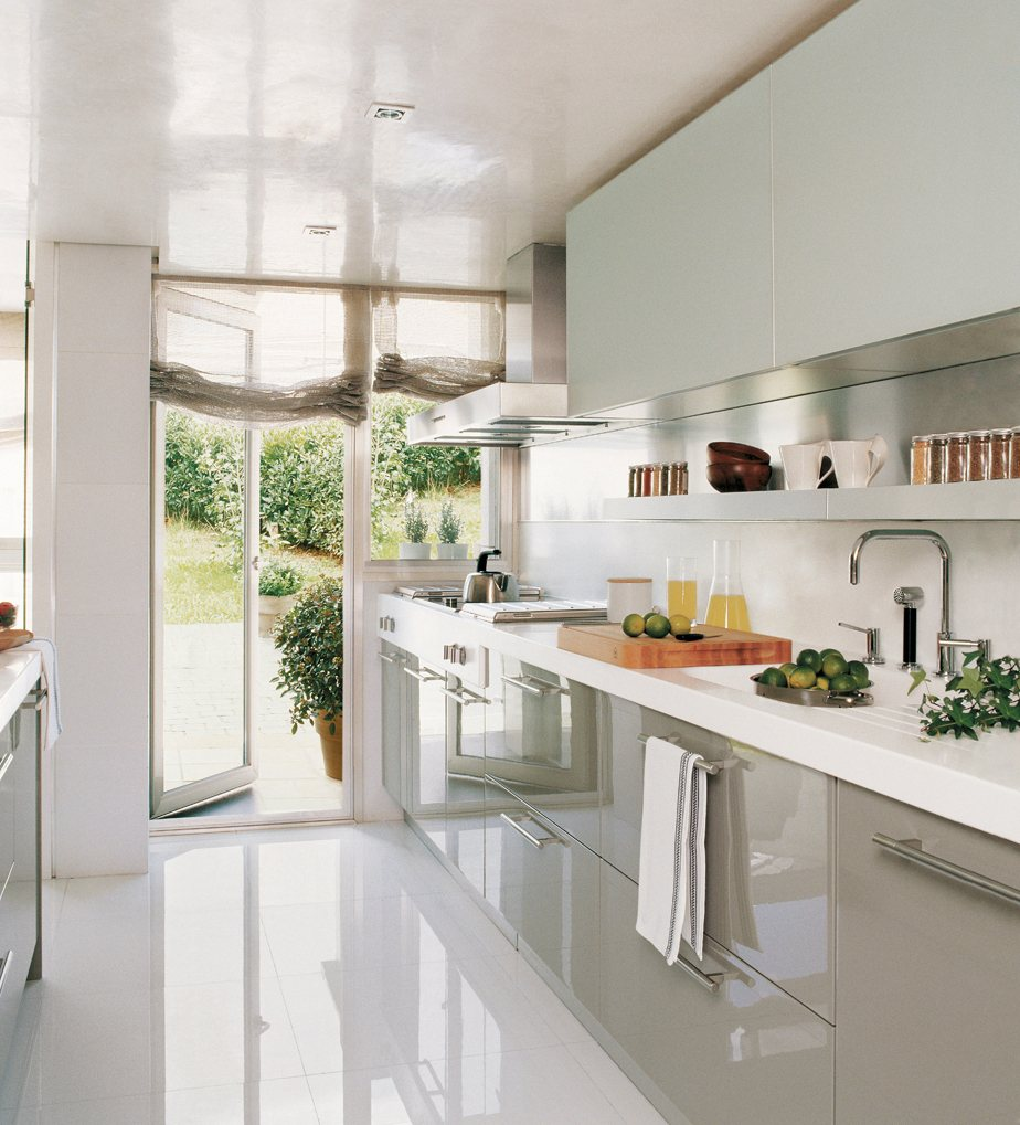 20 fotos de cocinas peque as bien aprovechadas for Ideas para cocinas integrales