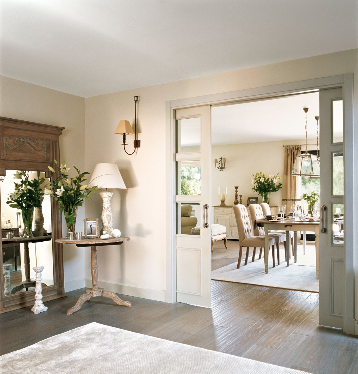 Ideas f ciles y efectivas para ganar m s luz en casa - Alfombras para recibidor ...