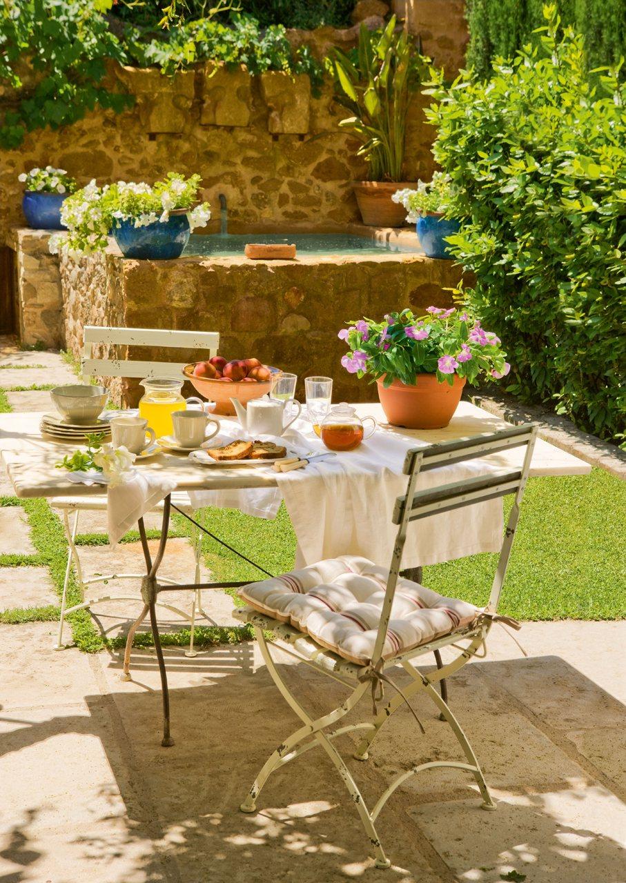 Los comedores de verano m s bonitos for Mesas para patio