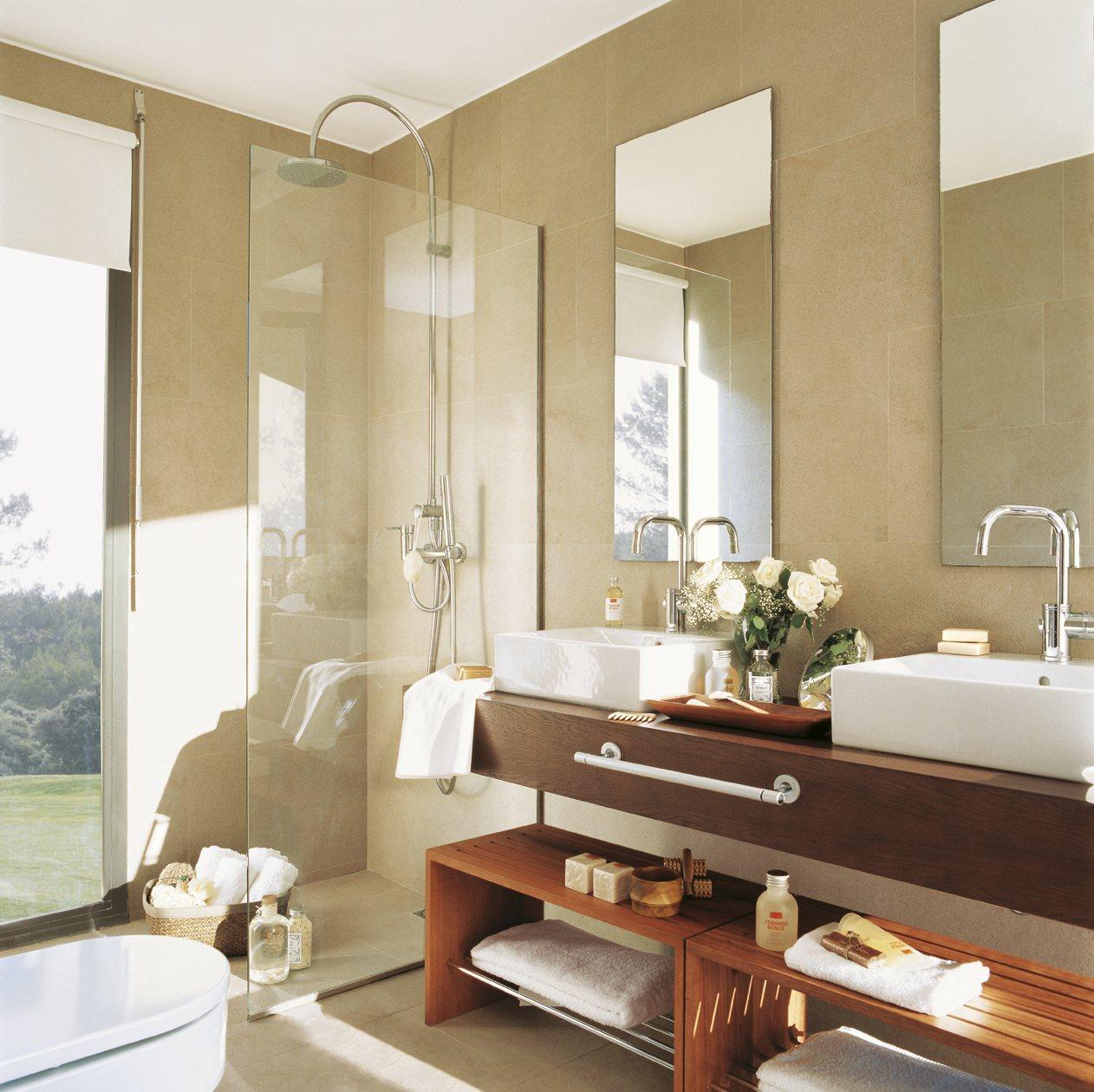 Soluciones para organizar ba os peque os - El mueble banos pequenos ...