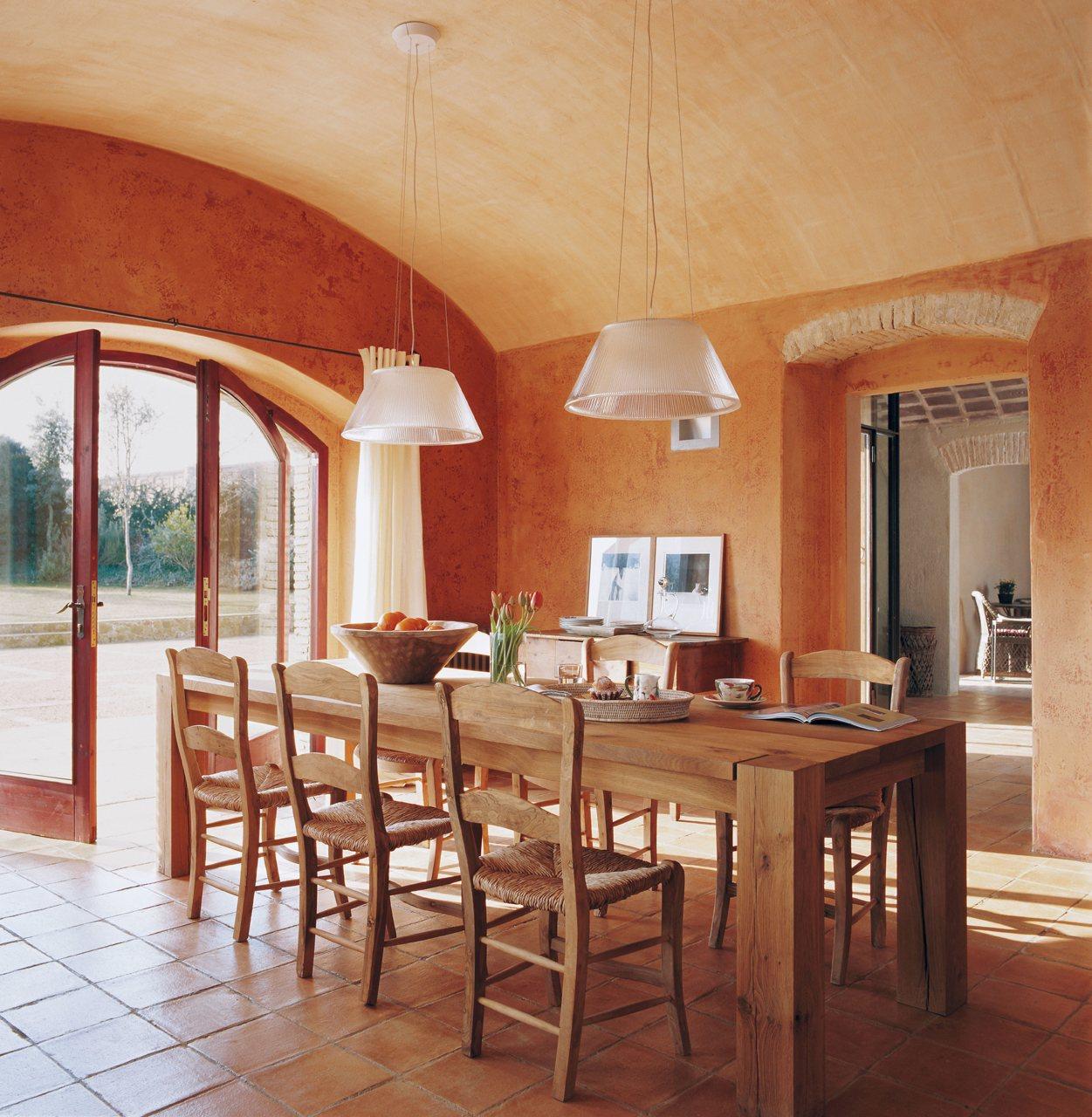 Naranja magn tico for Comedores bonitos y modernos