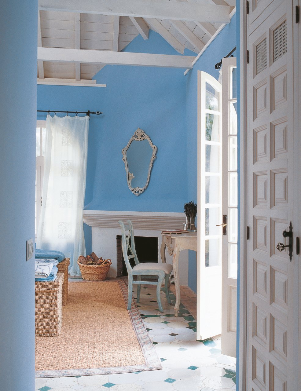 Azul turquesa - Azul turquesa pared ...