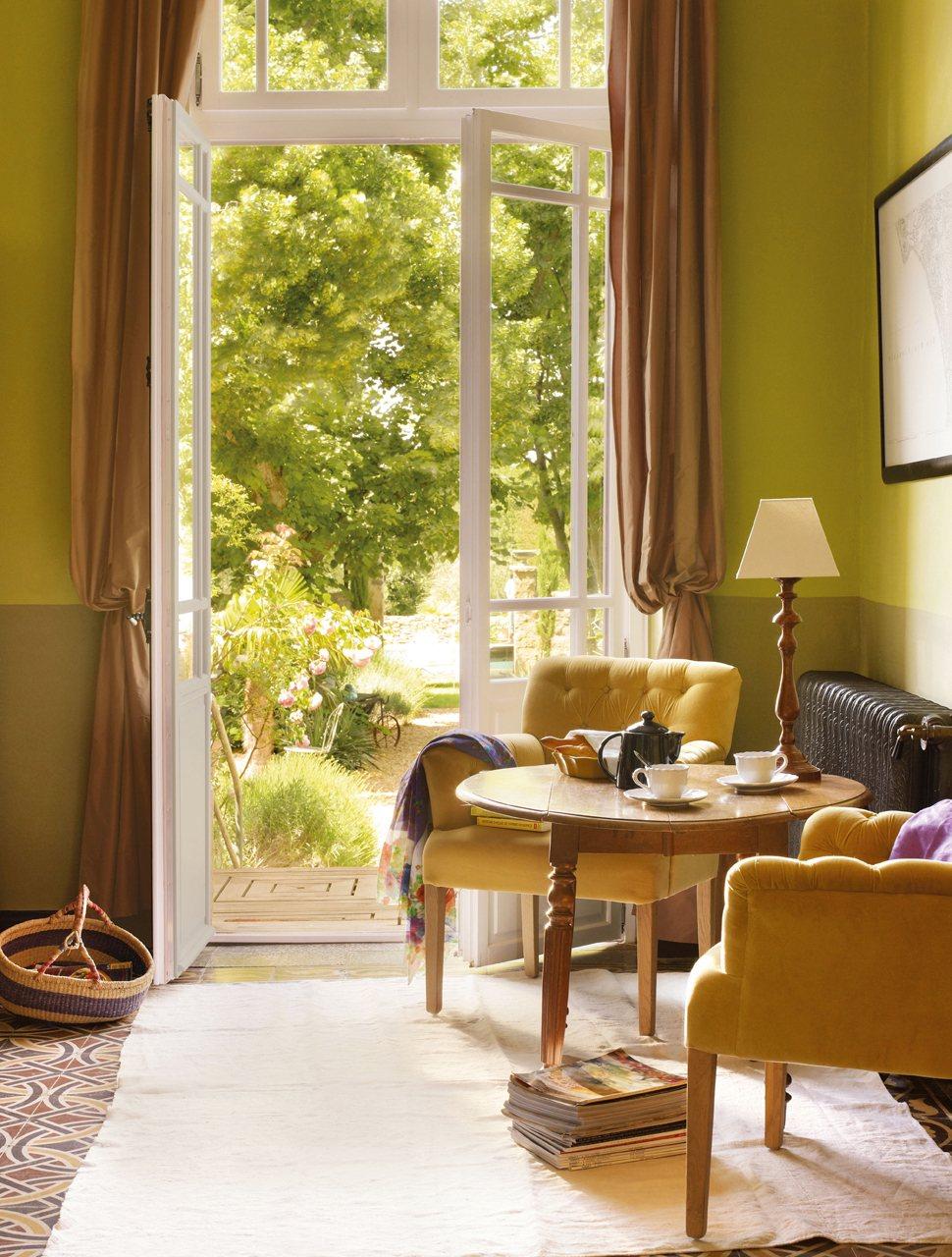 Verde en tono oliva - Colores de moda en paredes ...