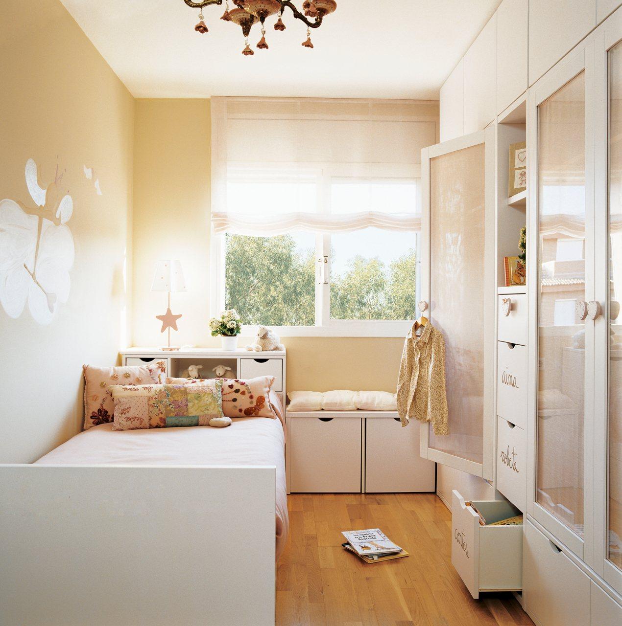 Dormitorios infantiles peque os s cales partido - Decoracion de dormitorios juveniles pequenos ...