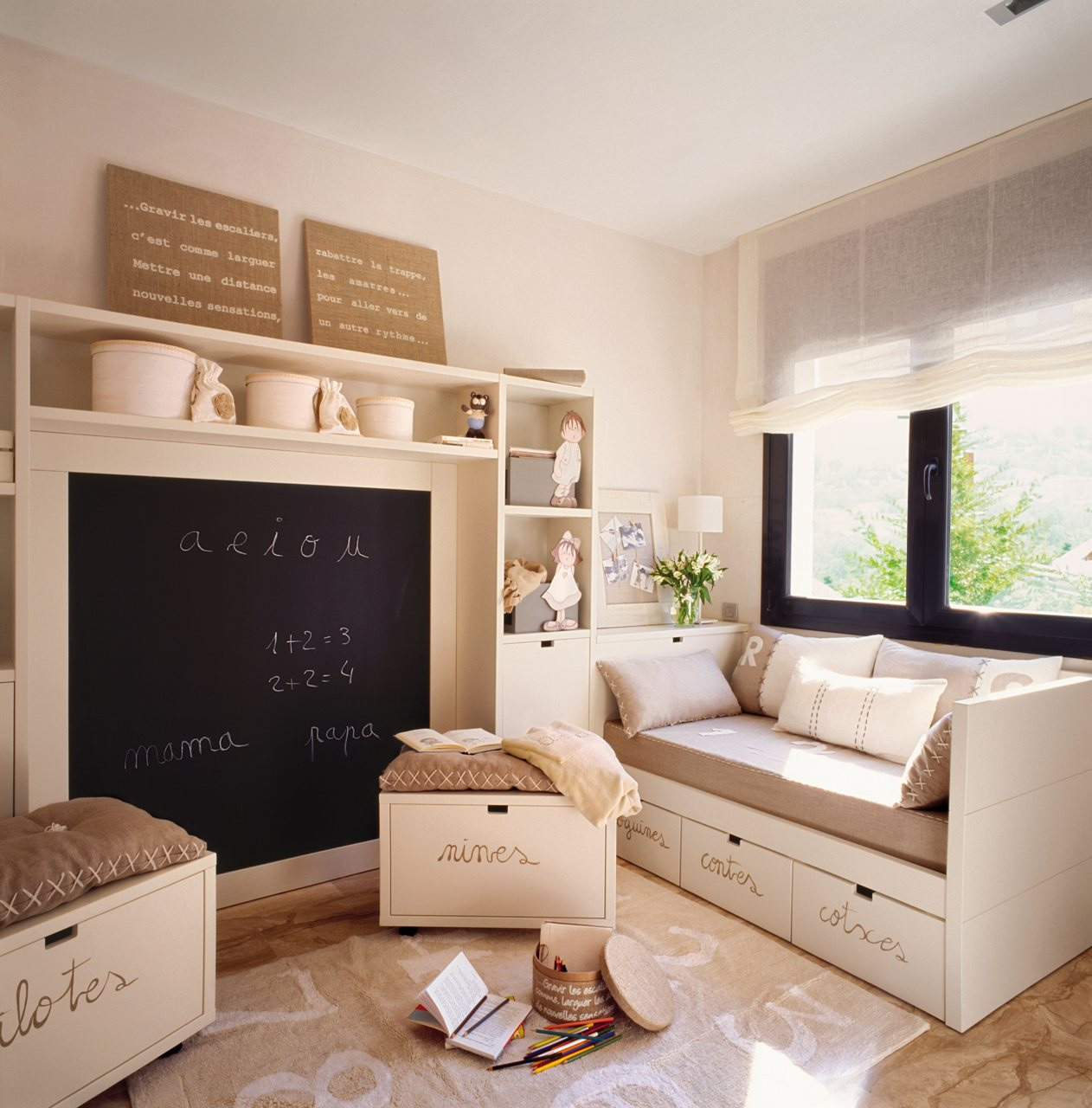 Dormitorios infantiles peque os s cales partido for Habitaciones infantiles pequenas para dos