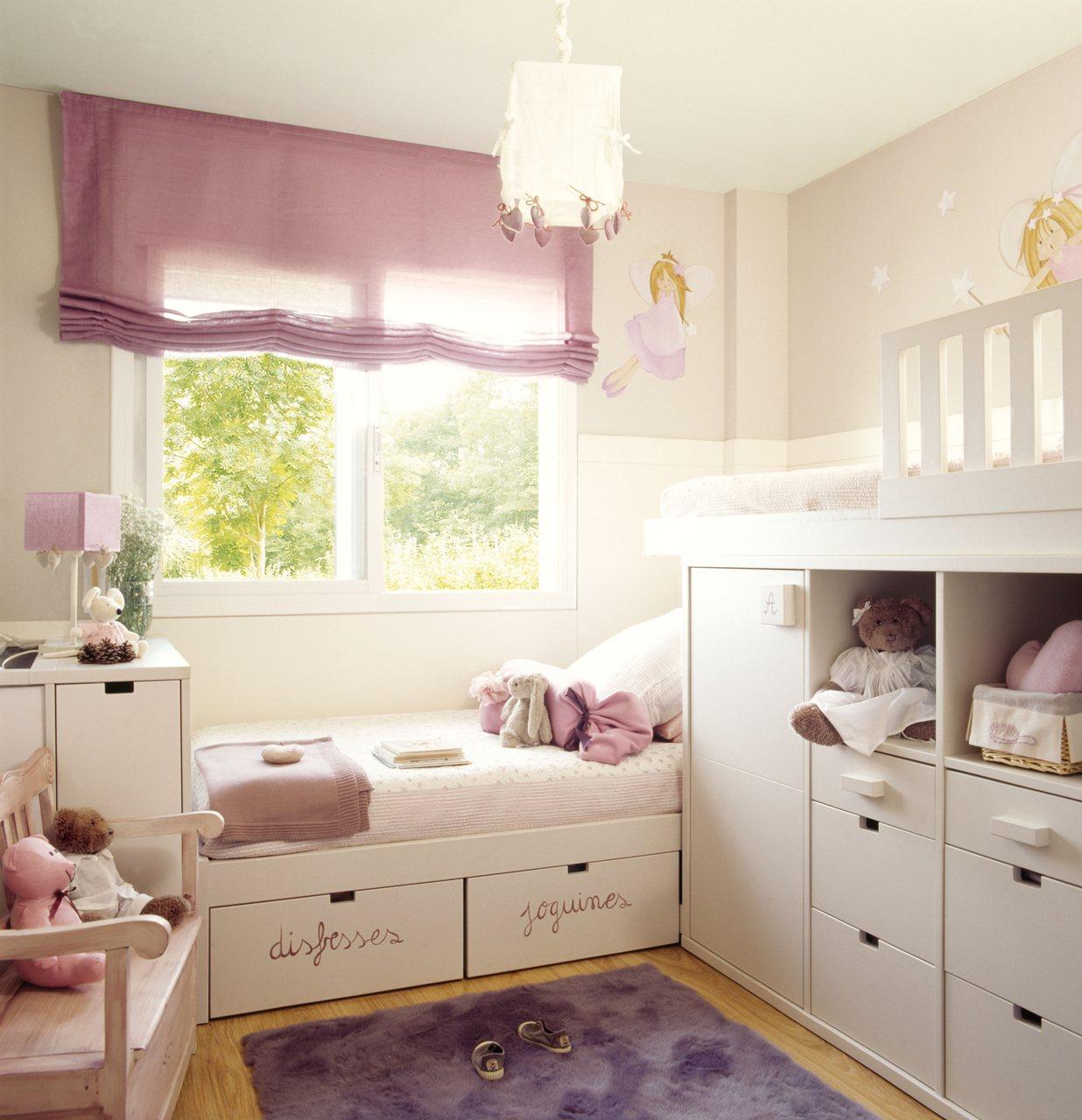 Dormitorios infantiles peque os s cales partido - Como amueblar un dormitorio pequeno ...