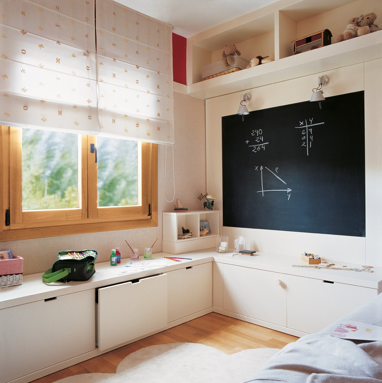 Dormitorios infantiles pequeos scales partido