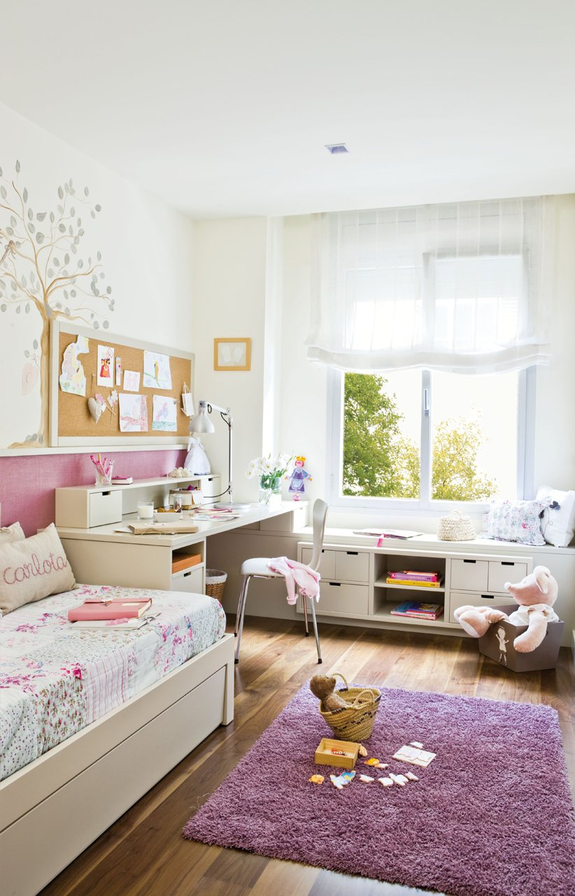 Dormitorios infantiles peque os s cales partido for Habitacion para 2 ninos