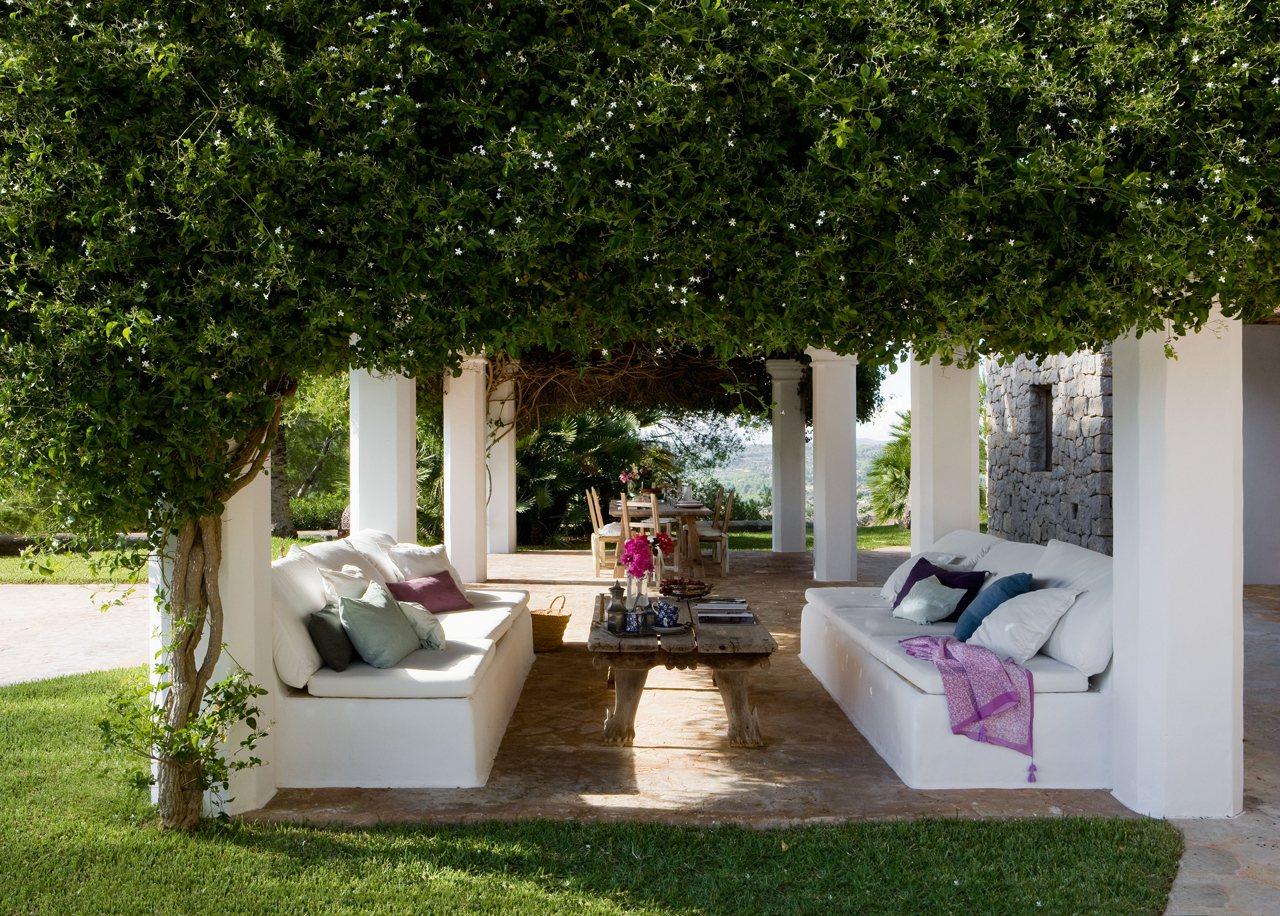 10 porches maravillosos con encanto for Sofas para porches