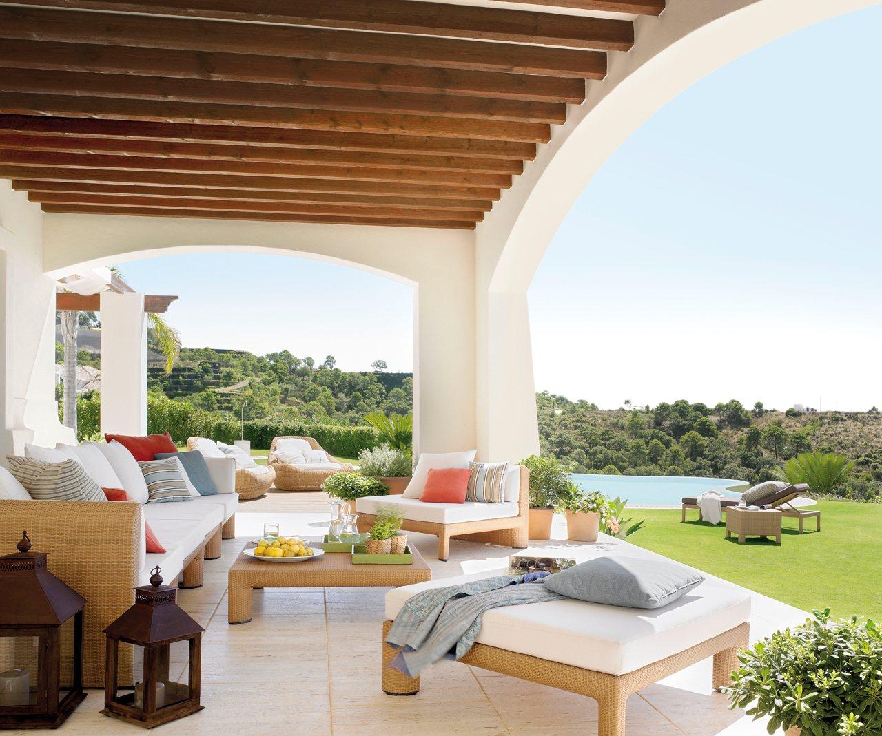 10 porches maravillosos con encanto - Casas americanas con porche ...