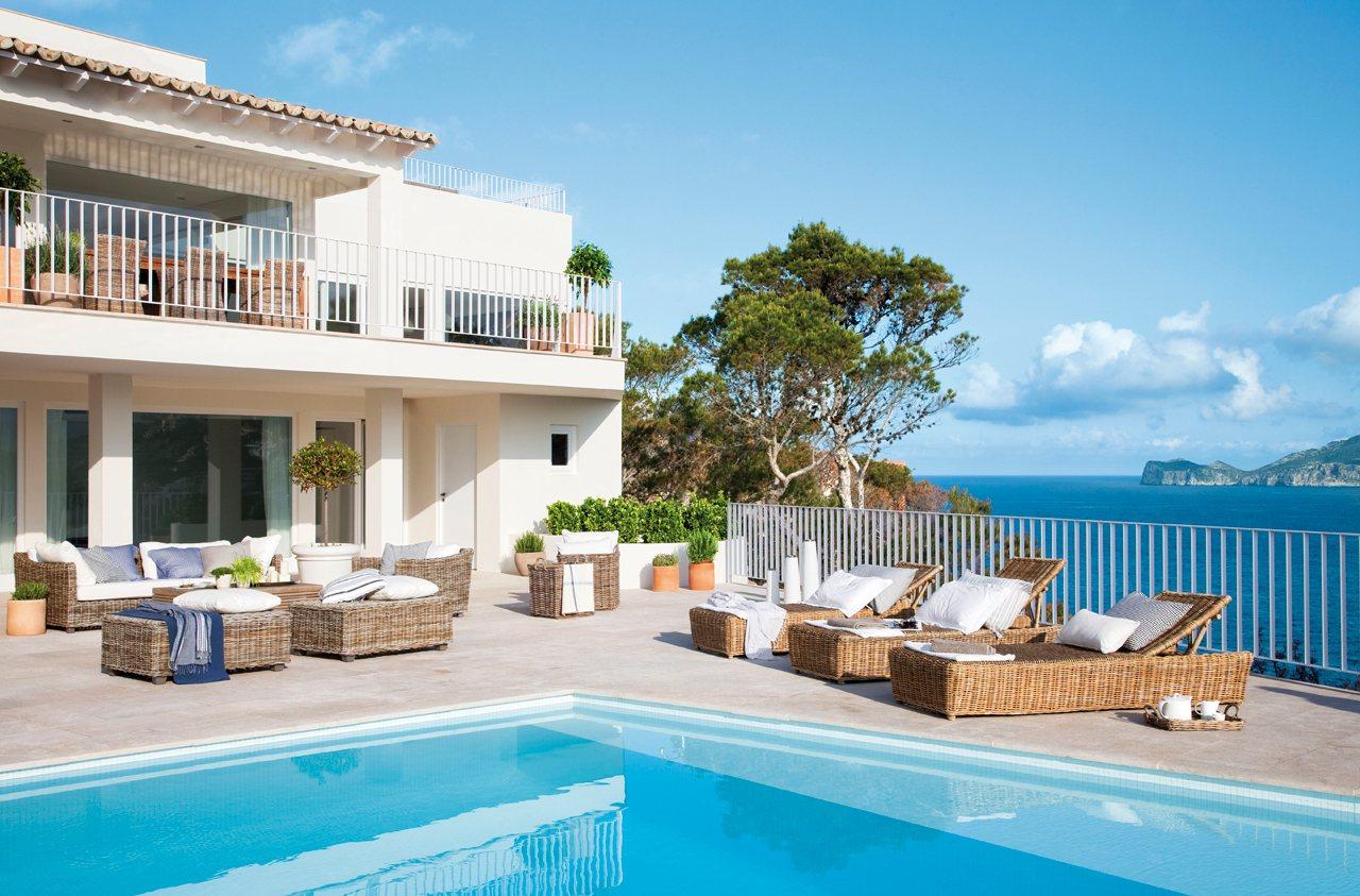 10 porches maravillosos con encanto - Piscinas en terrazas de casas ...