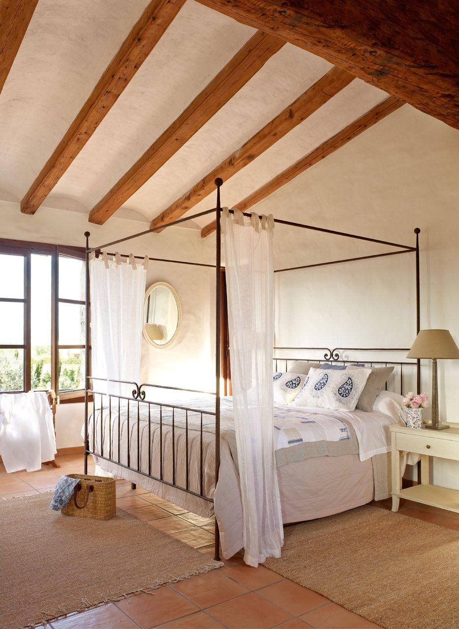 Una cama romántica
