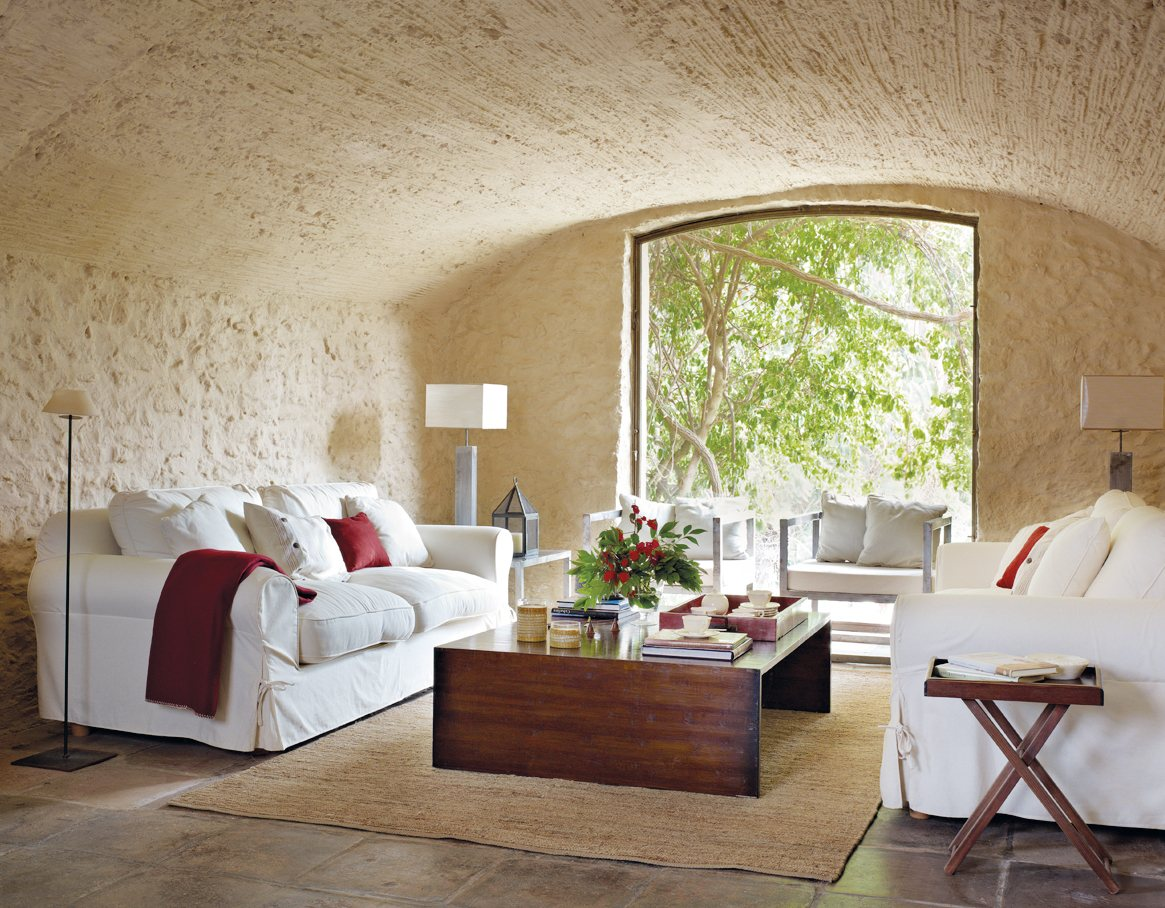 Salones luminosos y frescos for Salon el mueble