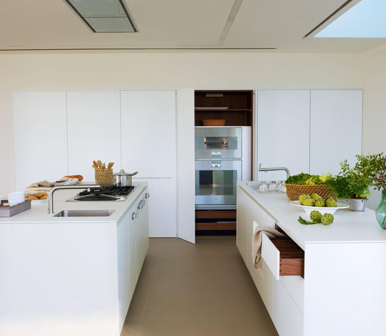 Una cocina luminosa y espectacular - Cocinas espectaculares ...