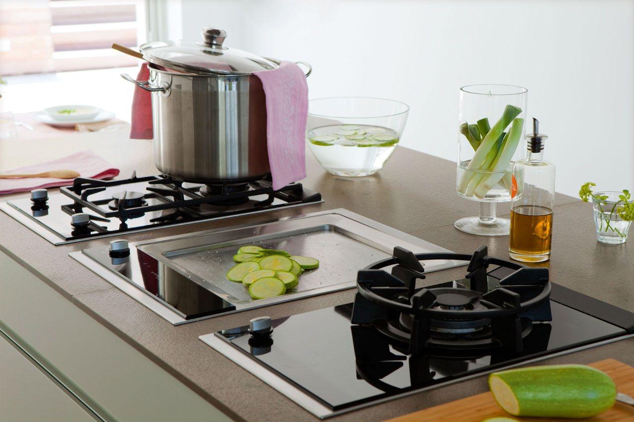 Una cocina para disfrutar en familia - Placas de cocina de gas ...