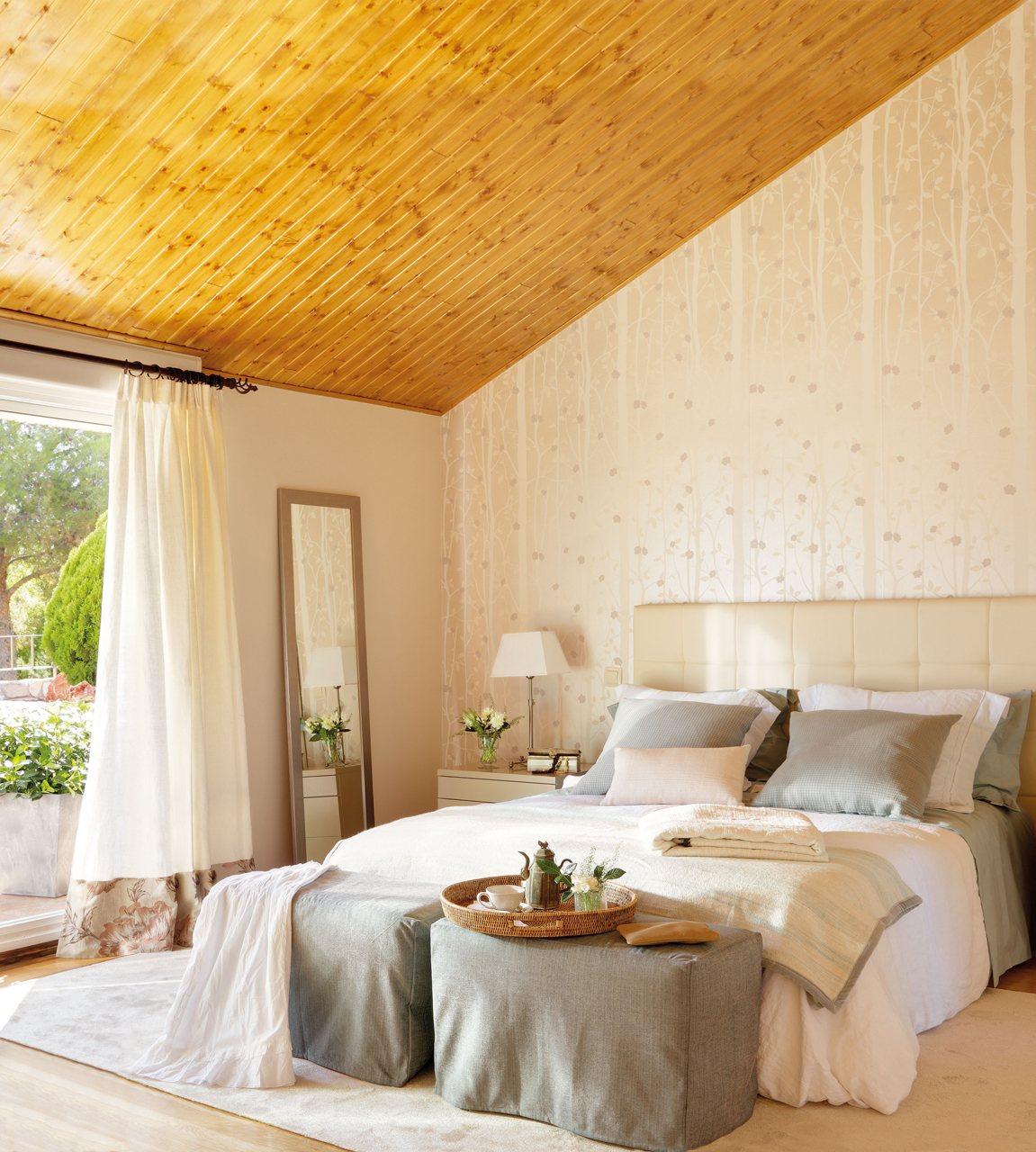 12 dormitorios renovados por el mueble - Dormitorio estilo romantico ...