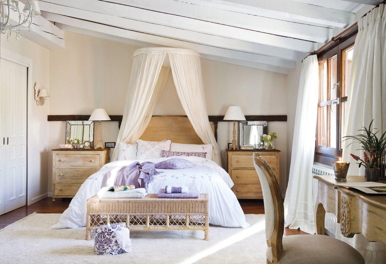 12 dormitorios renovados por el mueble On habitacion romantica de estilo ingles