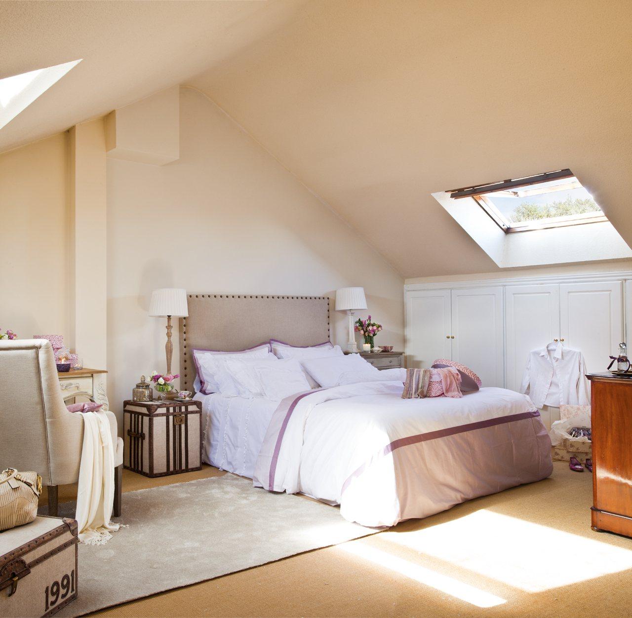 12 dormitorios renovados por el mueble for Color de moda para el dormitorio principal