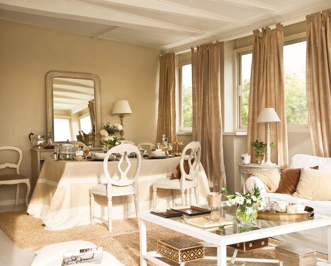 Salones Con Comedor Renovados Por El Mueble # Muebles Muy Bonitos