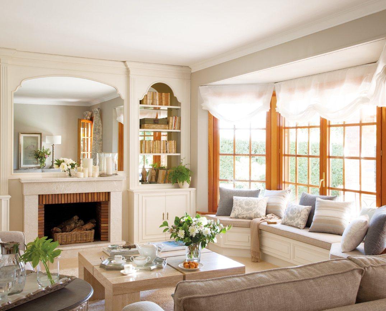 5 salones renovados por el mueble for Decoracion salon comedor