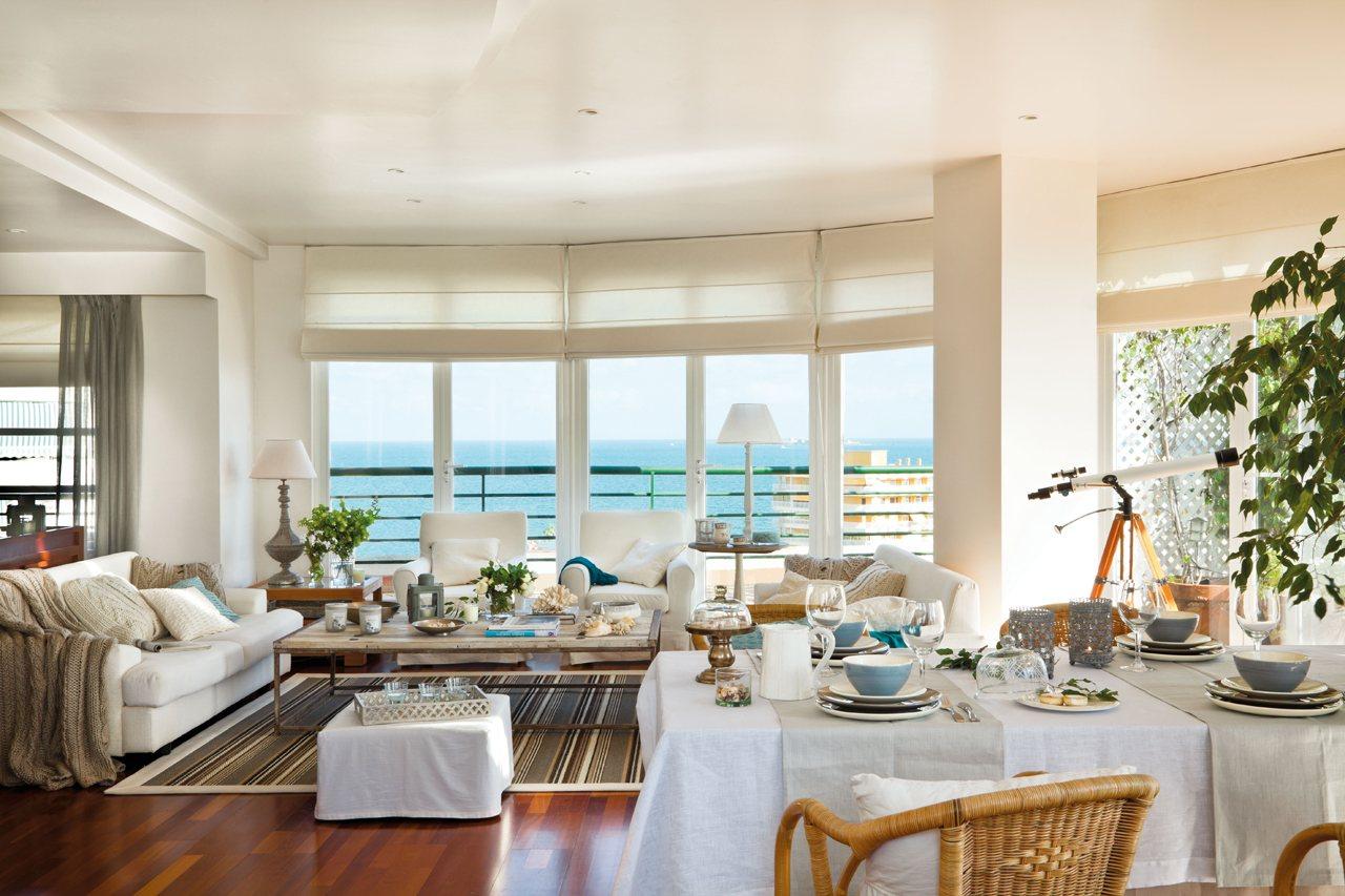 Salones con comedor renovados por el mueble - Salon comedor con estilo ...