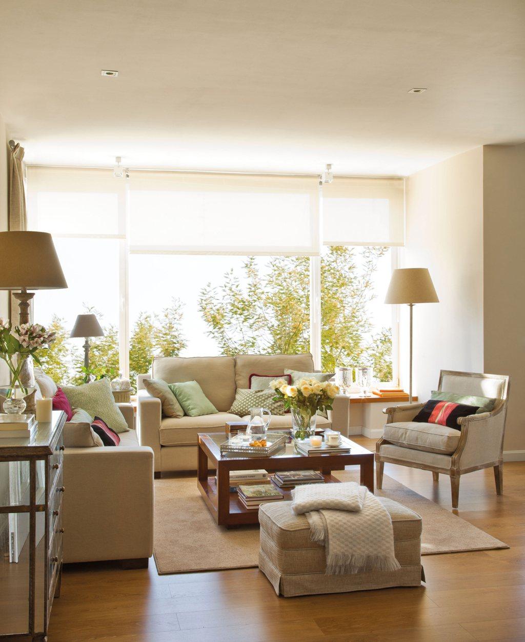 Salones con comedor renovados por el mueble - Fotos de decoracion de salones ...