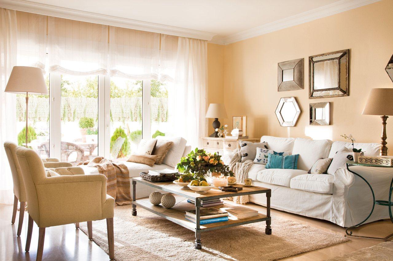 Salones con comedor renovados por el mueble for El mueble decoracion
