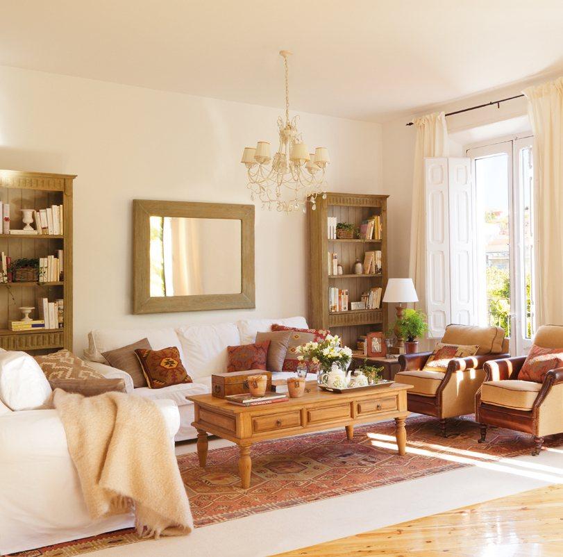 Salones con comedor renovados por el mueble for Amenager un salon de 15m2
