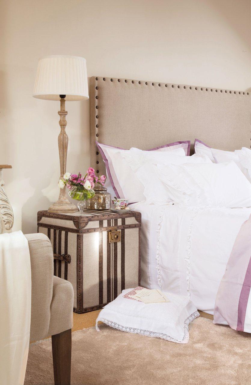 Trucos para recuperar muebles y piezas de decoraci n viejas - Mesas auxiliares para dormitorio ...
