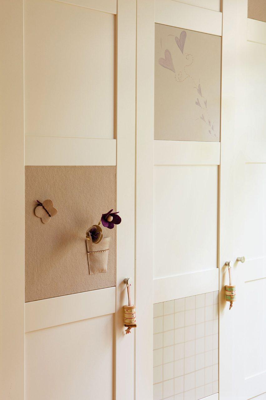 Ideas para una habitaci n para dos hermanas - Puertas para armarios ikea ...