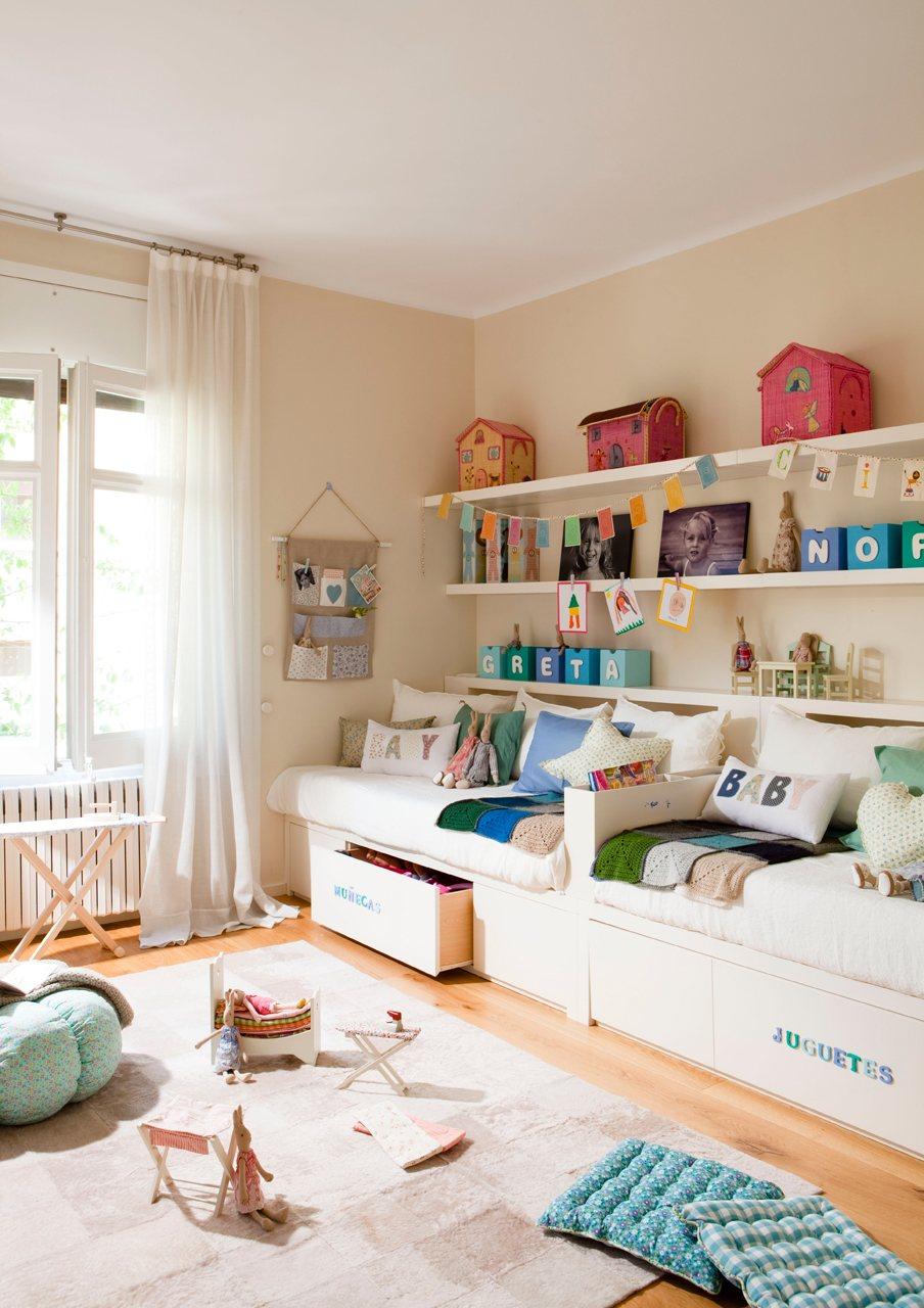 Ideas para una habitaci n para dos hermanas - Dormitorios infantiles para dos ...