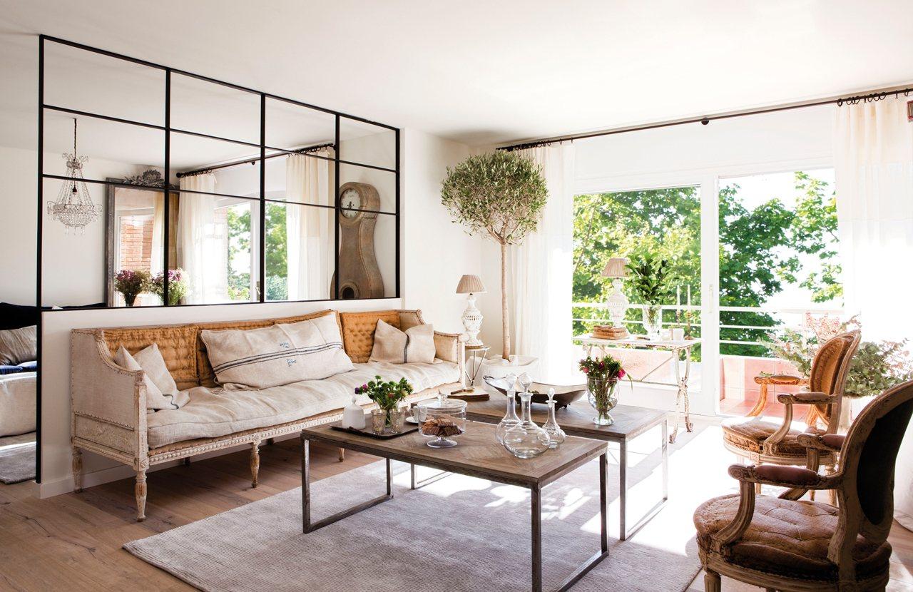 Instala paredes de cristal y gana luz y amplitud en casa - Cocina con pared de cristal ...