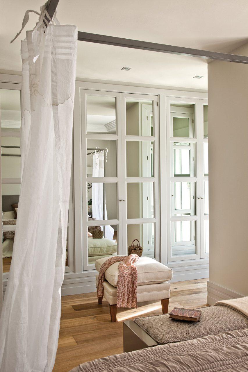 Armarios con espejo para dormitorio fabulous armario de for Espejo dormitorio