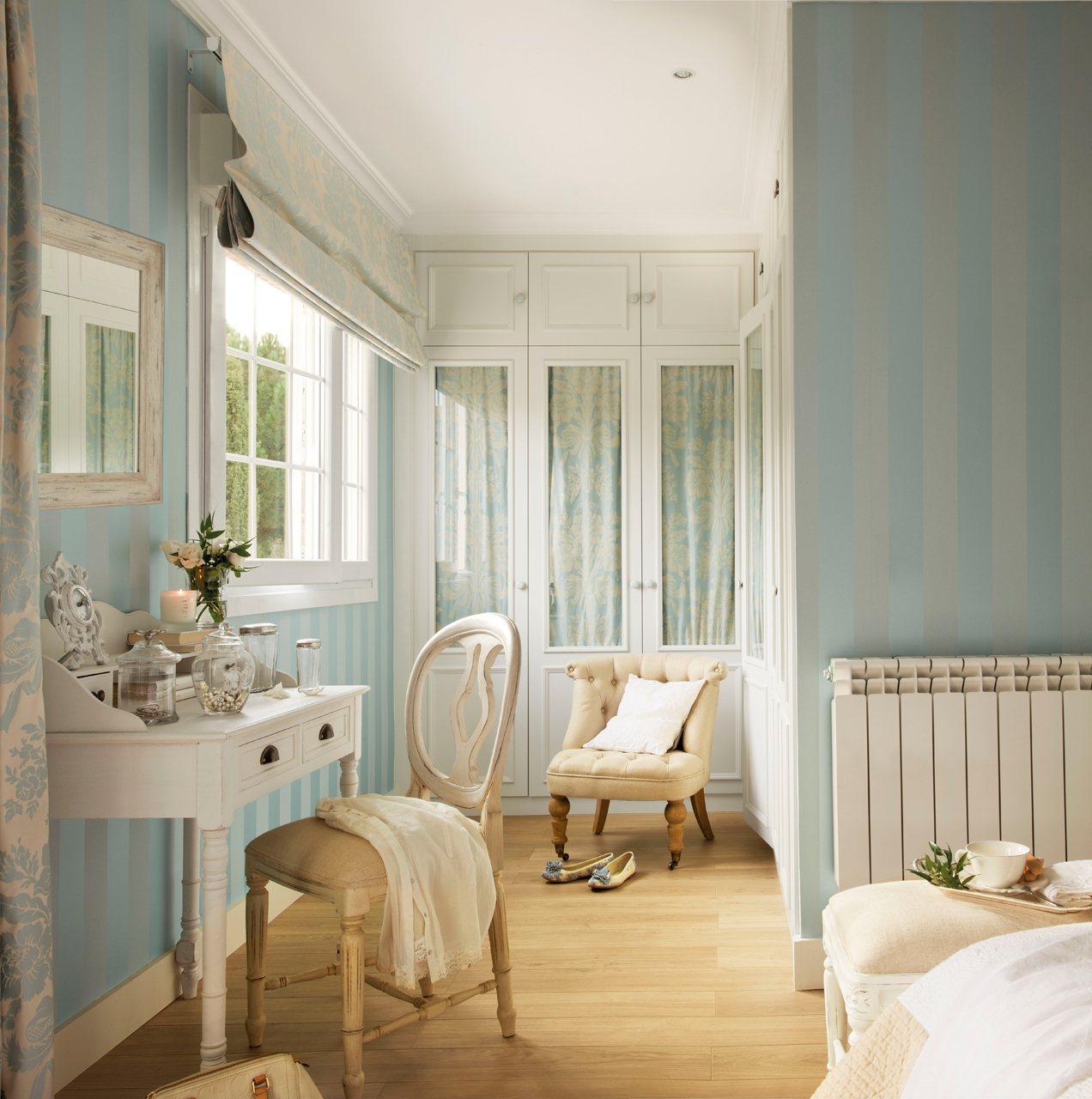 closet paint color ideas - Los 10 vestidores muy prácticos los favoritos de El Mueble