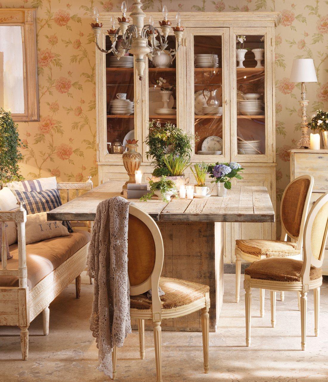 Un jard n tambi n dentro de casa for Comedor en planta
