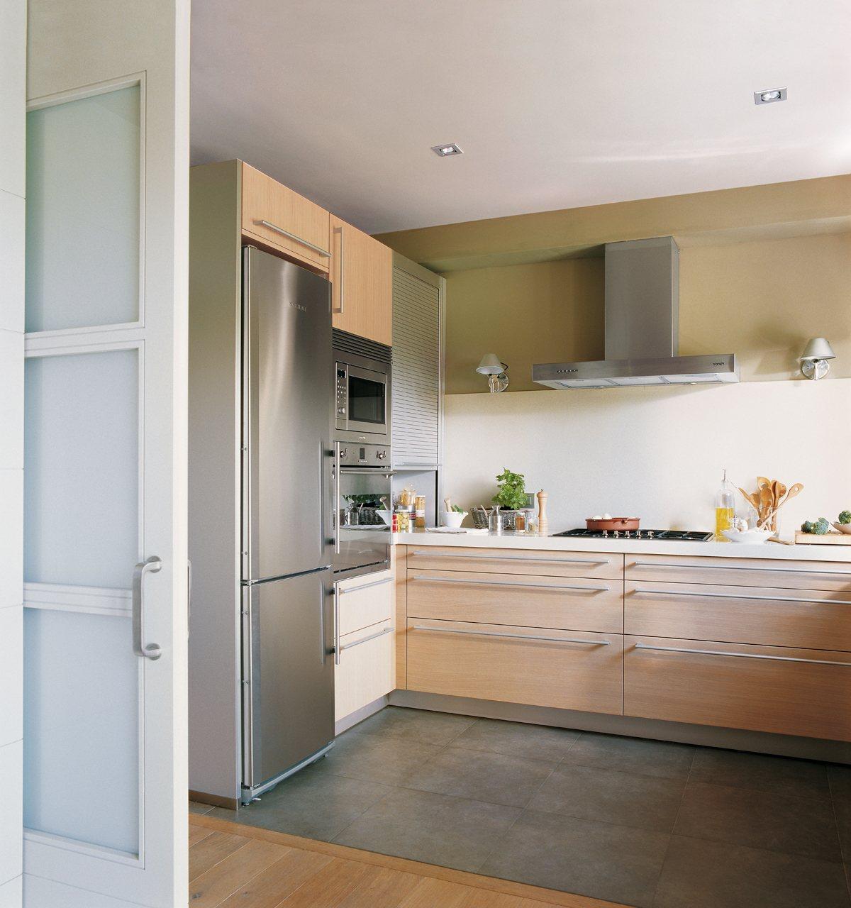 Ideas para cocinas peque as - Cocinas pequenas alargadas ...