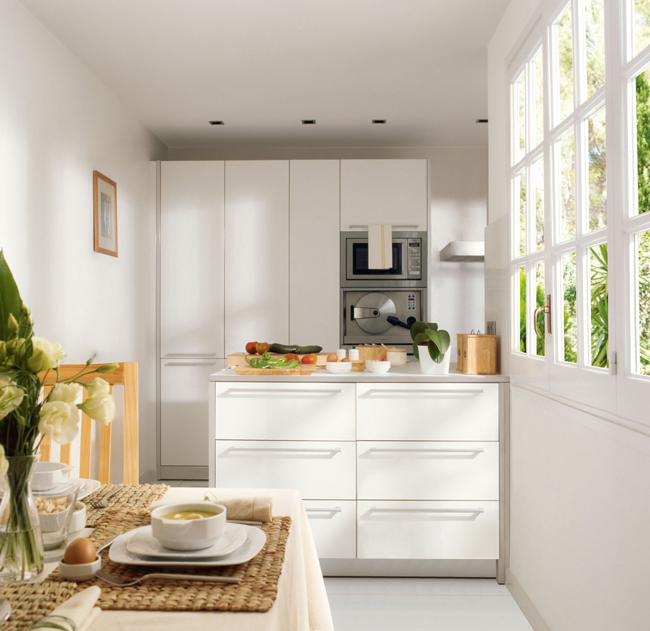 Ideas para cocinas peque as - Cocinas muy pequenas ...