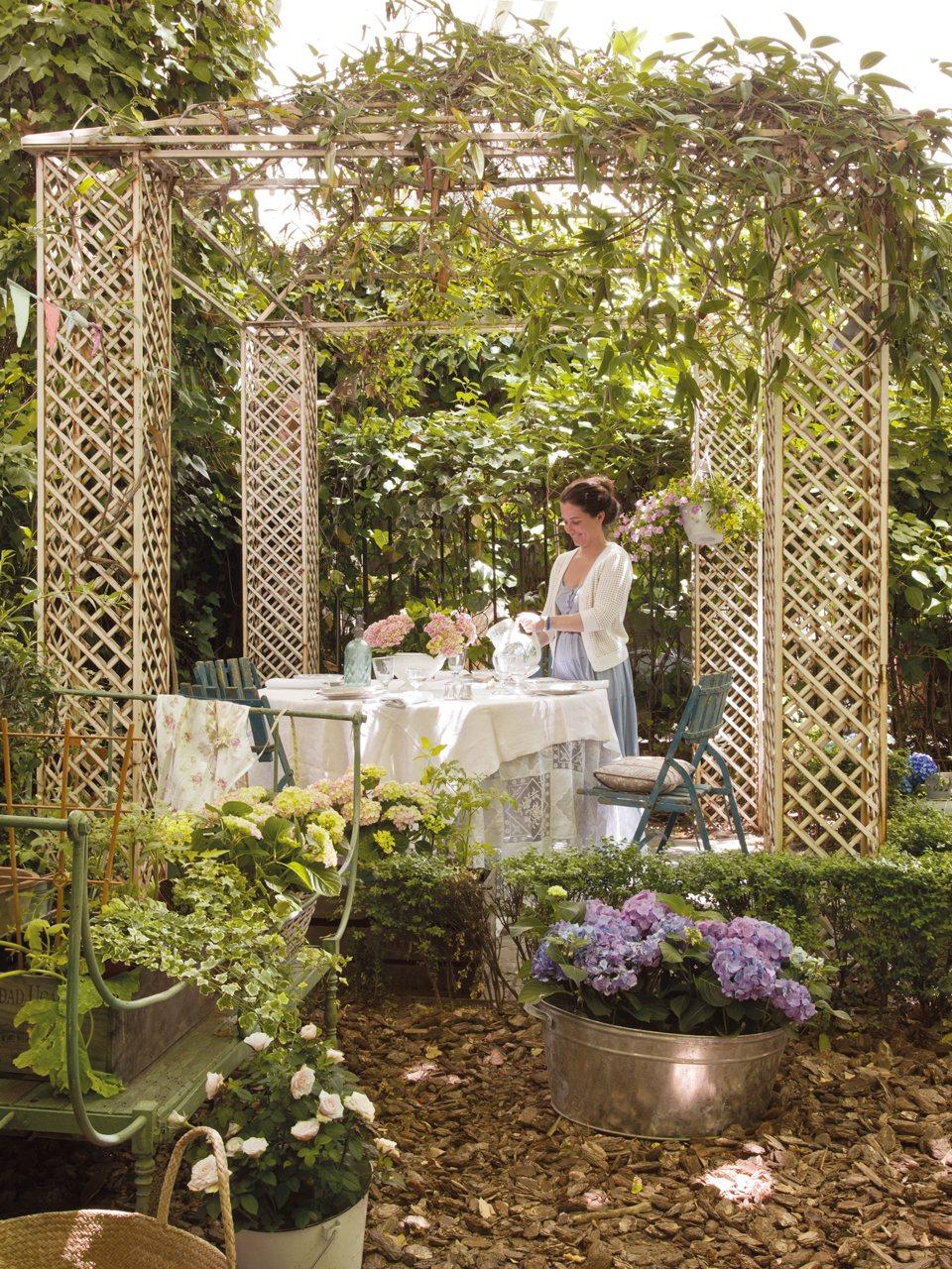 Un jard n en plena ciudad for Celosias para jardin