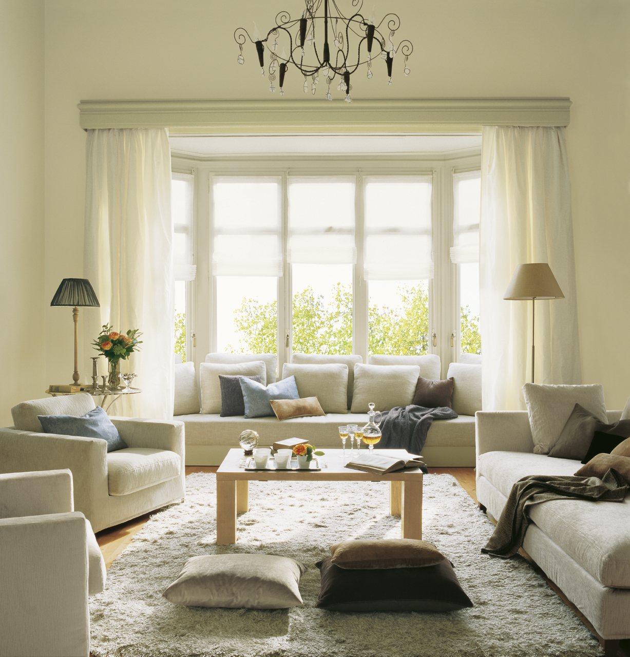 12 buenas ideas para renovar el sal n - Lampara salon techo ...