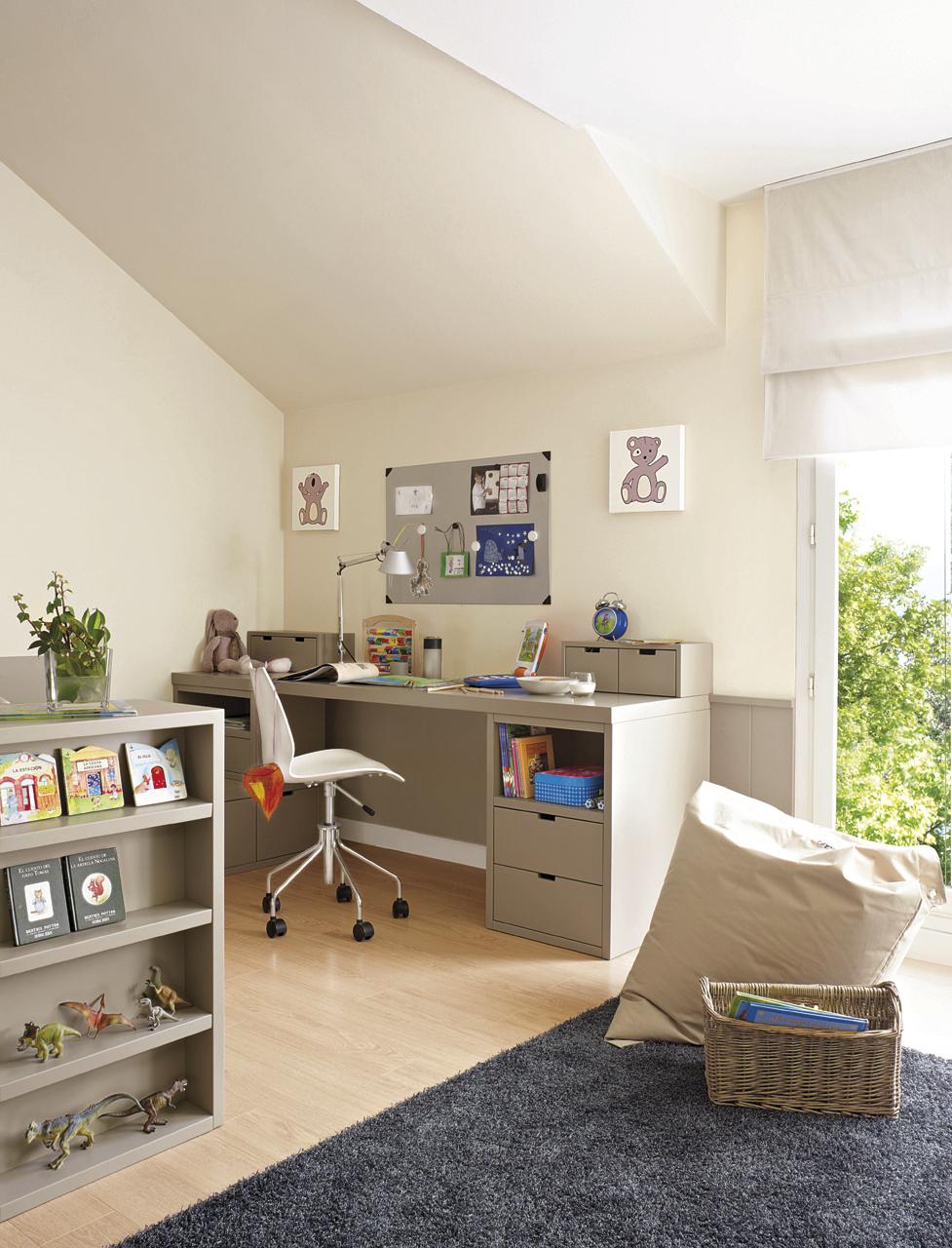 15 habitaciones para estudiar - Habitacion estudio decoracion ...