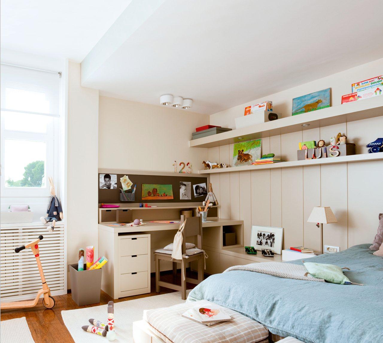 15 habitaciones para estudiar - Escritorio habitacion ...