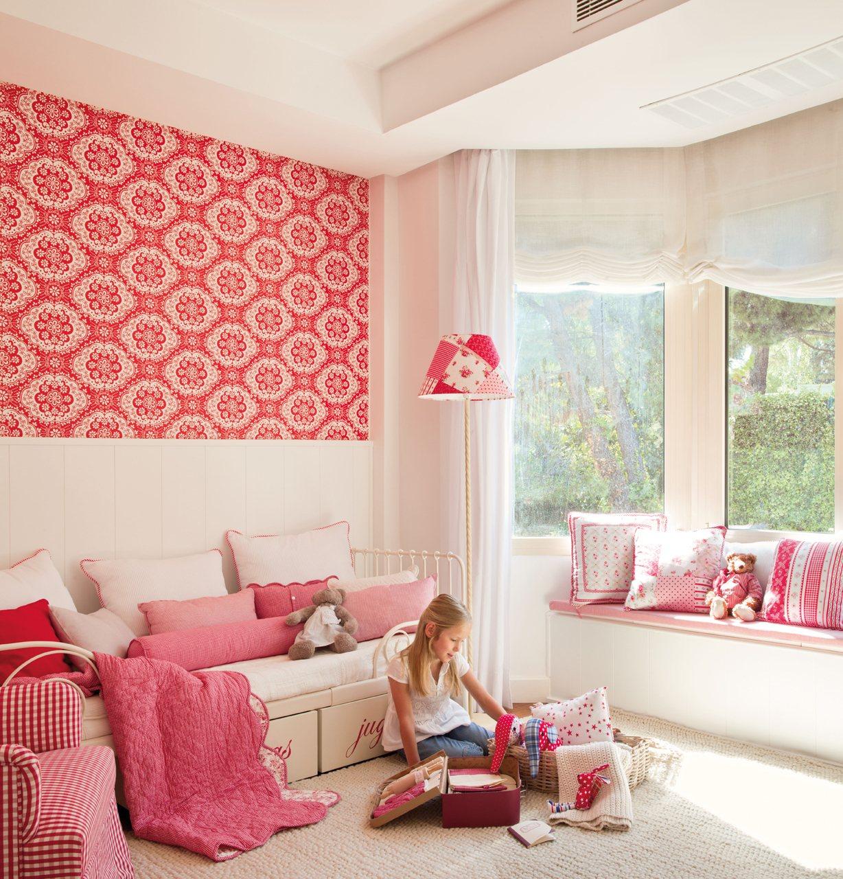 10 cuartos de ni os renovados por el mueble for Papel pintado para muebles de madera
