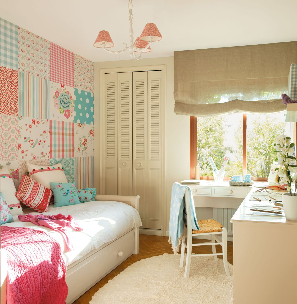 10 Cuartos De Ni Os Renovados Por El Mueble  ~ Papel Pintado Para Habitacion Juvenil De Niña