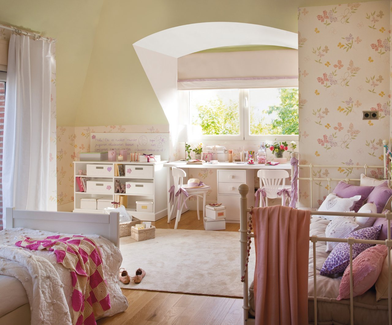 10 cuartos de ni os renovados por el mueble - Dormitorios infantiles con encanto ...