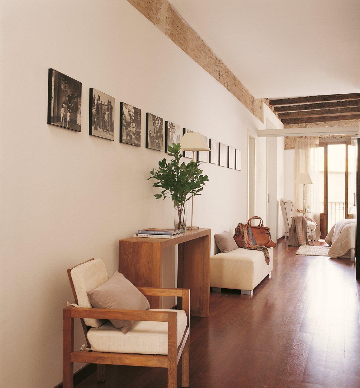Detalhes do c u decorando o hall de entrada - Decoracion pasillos y recibidores ...
