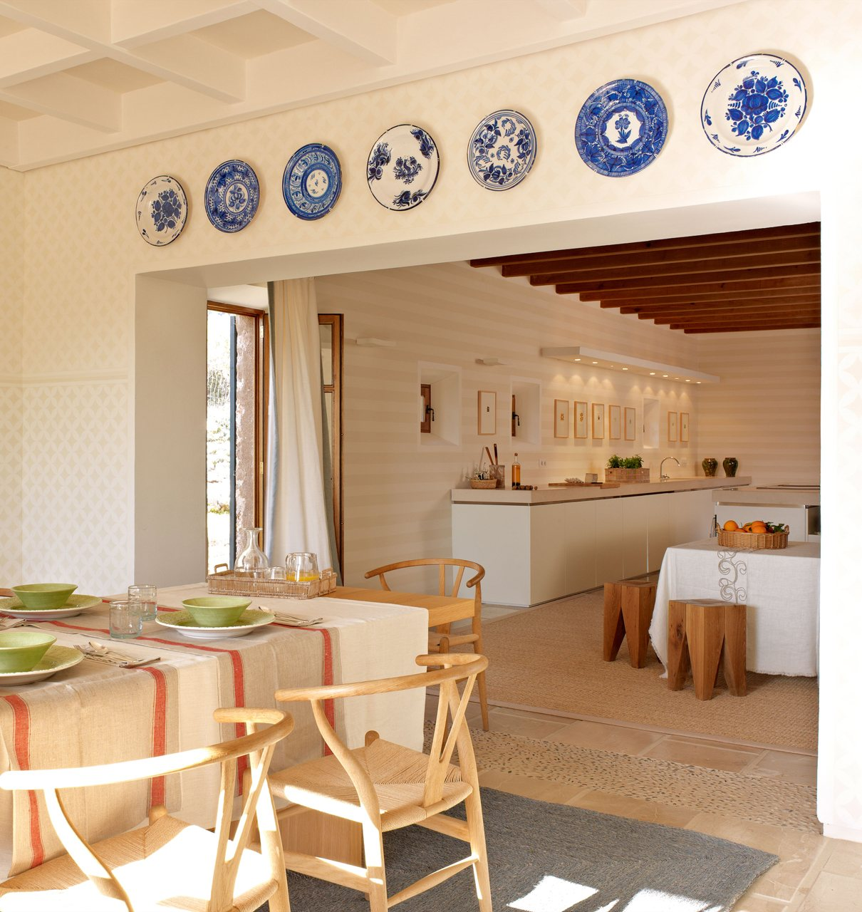 Baños Rusticos Piedra Obra Nueva:Una cocina actual con recuerdos rústicos